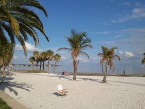 St. Petersburg park on Tampa Bay