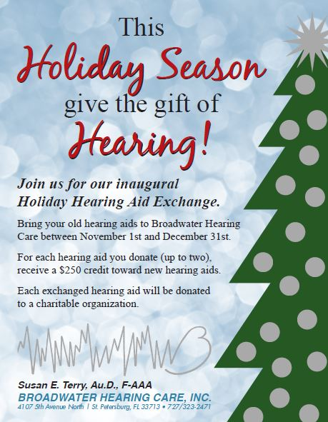 Broadwater Hearing Care Holiday Offer