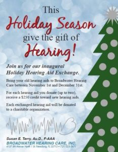 holiday hearing aid exchange