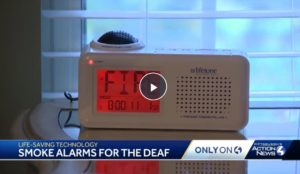 smoke alarms for deaf