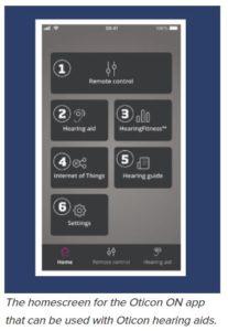 Oticon Hearing Aid App
