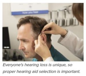 hearing aids fitting