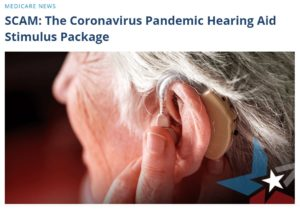 hearing aid scam
