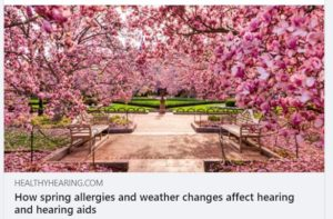 hearing and springtime allergies